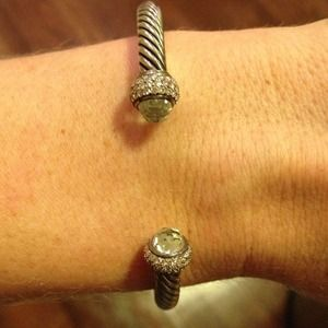 David Yurman 5mm Prasiolite Cable Classic Bracelet
