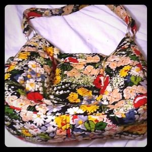 Vera Bradley Handbags - Vera Bradley tote / purse in Poppy Fields 💙