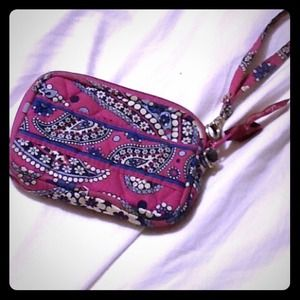 Vera Bradley Clutches & Wallets - Vera Bradley a Tech Case Wristlet in Boysenberry