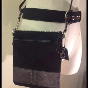 Coach Accessories - Authentic Coach Belt and Crossbody Bag.💢SOLD💢