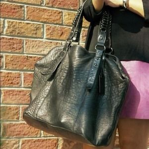 Aqua Madonna Handbags - My favorite black leather bag ( Need a new home)