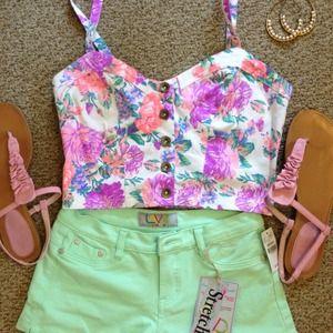 Mint Shorts!!