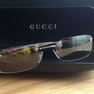 Gucci sunglasses. Barely worn.