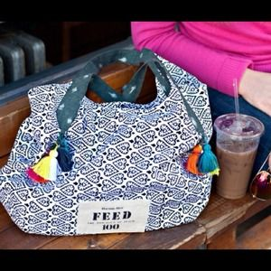 Rachel Roy Feed India Tote Bag