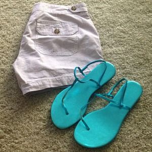Shoes - 👡Teal Sandals!👡