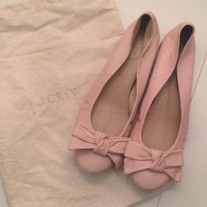 J. Crew Shoes - J.Crew Bow Ballet Flats
