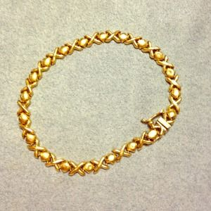 Jewelry - RESERVED 14K Real Gold Bracelet