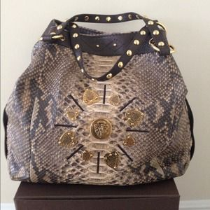  Authentic  Gucci Python Bag Limited Edition