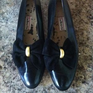 Talbots Leather flats with heel