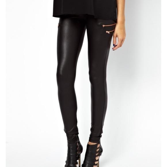 a5575eab6657b ASOS Pants | Soldnwt Maternity Leather Look Leggings | Poshmark