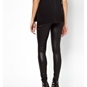 d1a034dfd6289 ASOS Pants - ***SOLD***NWT Asos Maternity leather look leggings