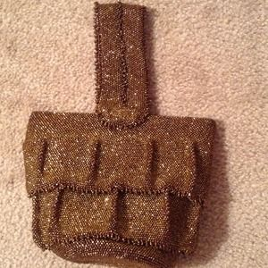 Handbags - Fantastic Beaded Evening Bag VINTAGE