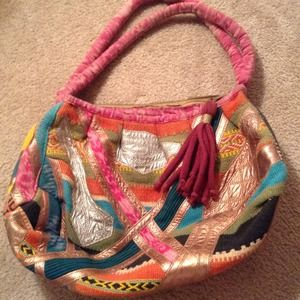 Colorful Tapestry looking Shoulder Bag!REDUCED!!