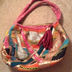 Handbags - Colorful Tapestry looking Shoulder Bag!REDUCED!!