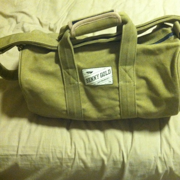 benny gold Handbags - This is a Benny Gold canvas small duffle bag 0f79b583b