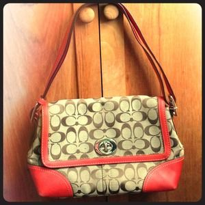 Coach Handbags - 🌸REDUCED🌸 Authentic Coach Logo Bag