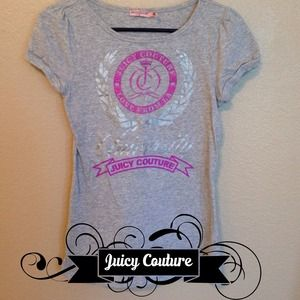Juicy Couture grey shirt
