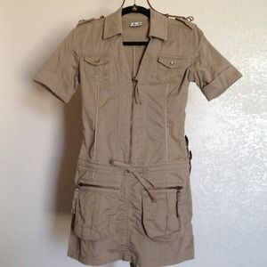 Hot!! Safari style dress