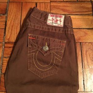 TRUE RELIGION Brown Pants