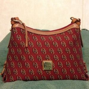 Price reduction. Dooney & Bourke Signature Hobo