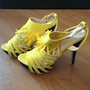 Shoes - Fringe Slingbacks