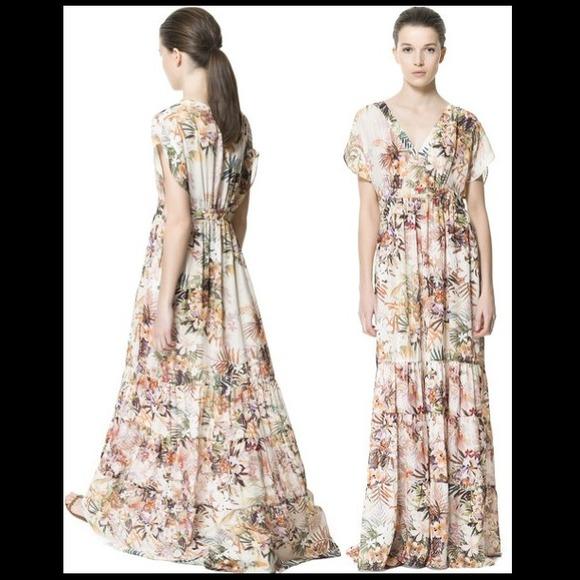 Zara dresses maxi