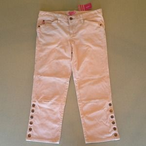 Brand new micro corduroy cropped pant by BCBGirls