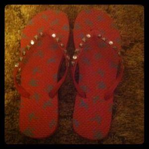 Shoes - **SALE** NWOT Vanity flip flops