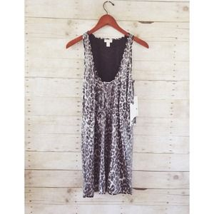 NWT Rodarte Leopard Sequin Dress - greys & black
