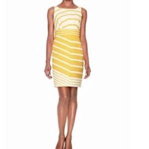 ✂️2-DAY SALE✂️2x HP Beautiful Yellow Striped Dress