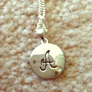"""A"" necklace!"