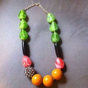 Anthropologie Multi-Color statement necklace
