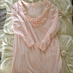 JCrew sweet pink top