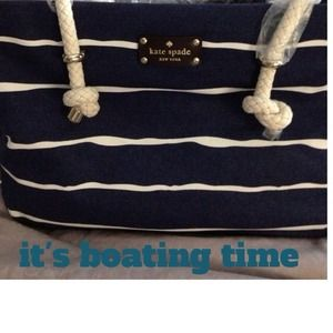 "Kate Spade ""Hit the Dock"" Handbag"