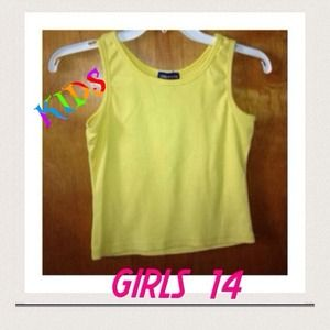 Limited Too 14 girls.yellow top