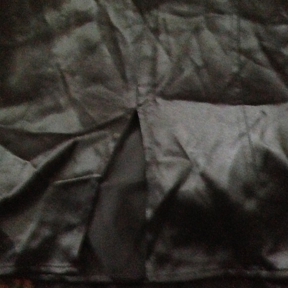 Express Dresses & Skirts - Express Black Skirt 100% Silk 3