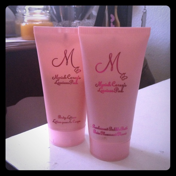 Mariah Carey Other - Body lotion and bubble bath