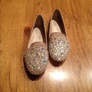 Aldo Jeweled Loafers