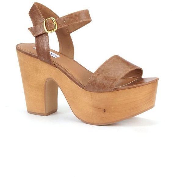 86% off Steve Madden Shoes - 🚨REDUCED🚨 Steve Madden wooden ...