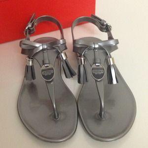 6e5a5b046cf Coach Shoes - 💯 Authentic Coach Helma Jelly Sandals ♡