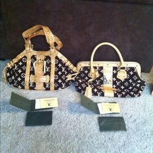 LV luxury hand bags . Limited edition