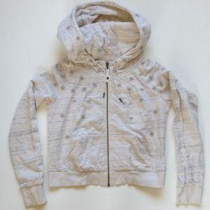 l.a.m.b. | cropped hoodie | size medium