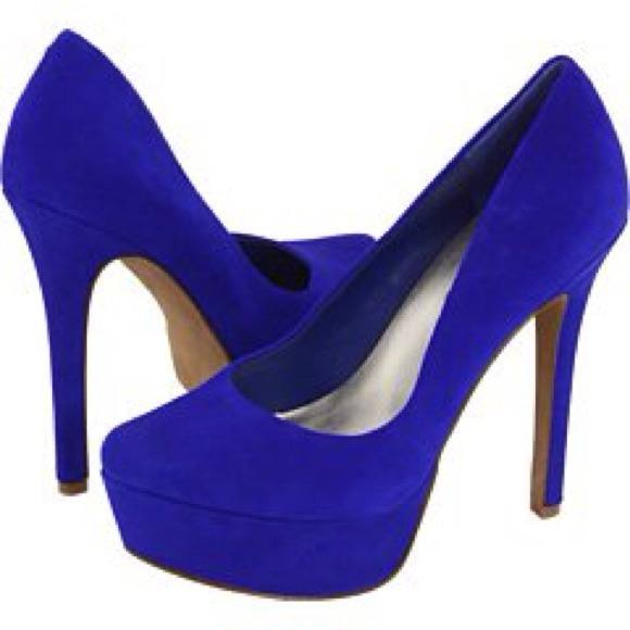Electric Blue Heels