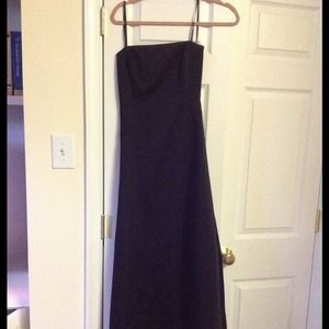 Black evening gown new