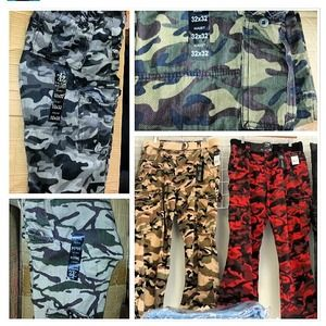 Other - Men CAMO jeans