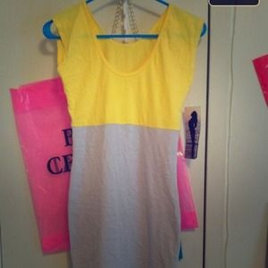 American Apparel ColorBlock Dress !!!