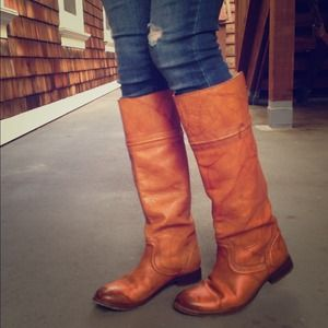 Frye Melissa Trapunto Boots