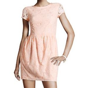 RESERVED new pink H&M Conscious Collection dress