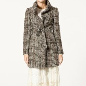 Zara Tweed Coat