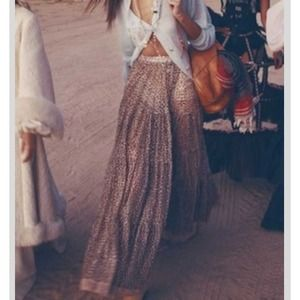 Wildfox Couture Leopard Maxi Skirt